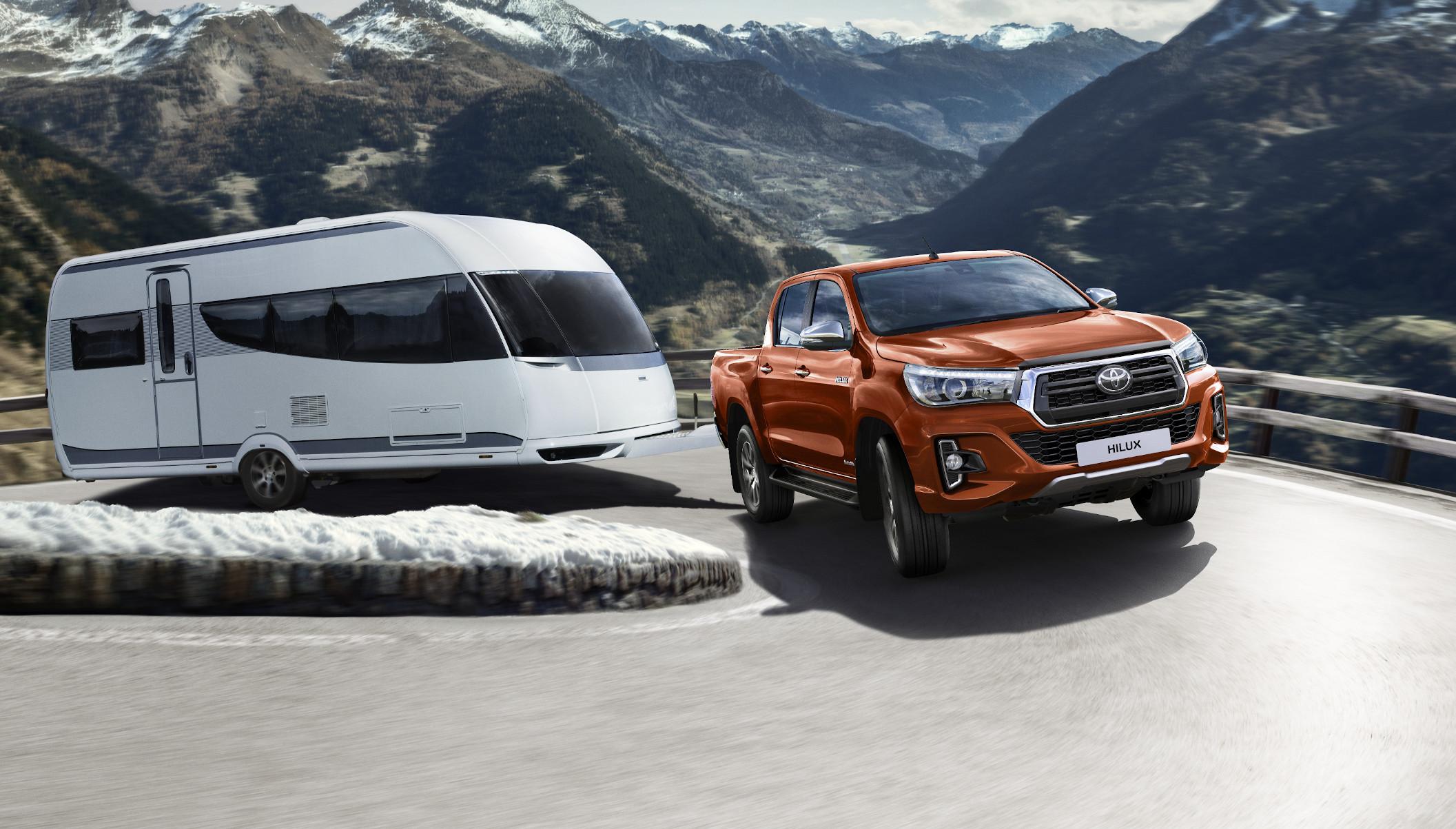 Aktionsversicherung für den Toyota Hilux